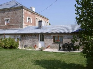 Self-catering gite accommodation for families in Champagne