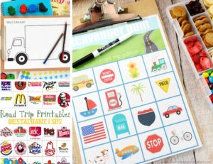 Car games for travelling with kids