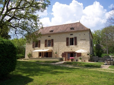 Cheap short break bed and breakfast accommodation in the Lot near Cahors