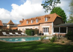 Discounted short break bed and breakfast near Peronne and Calais