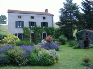 Bed and breakfast in the Auvergne