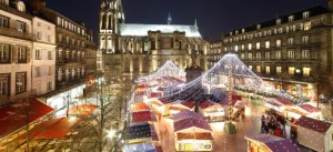 The Christmas market at Clermont Ferrand