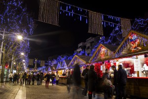 One of the biggest Christmas markets in France is in Reims