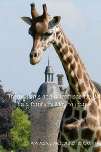 Theme park and attractions for a family holiday to France