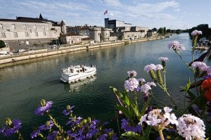 The lovely old town of Cognac