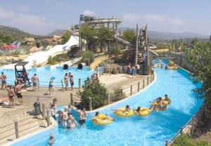 The Oceanile water park near Noirmoutier