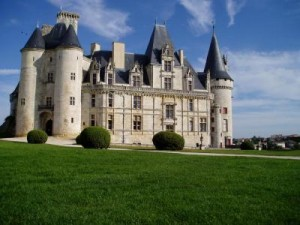 The magnificent Chateau de la Rochefoucauld