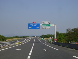 The French autoroutes are a real pleasure to use