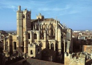 Narbonne cathedral is an impressive cultural site