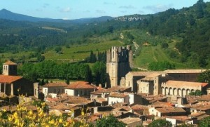 The Abbaye de Lagrasse is a highlight on a cultural holiday to the south of France