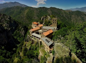 You must visit the Abbey of St Martin de Canigou on your cultural holiday