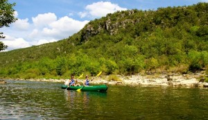 Go river kayaking in the Languedoc France