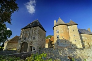 Moats, towers and dungeons at a chateau stay in France