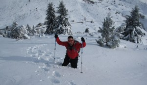 Don't forget the snowshoes on your winter holiday in France