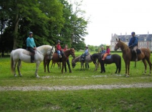 A special chateau B&B experience for the horse loving family