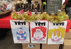 Christmas craft beers in France